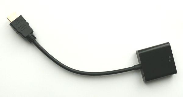 Raspberry Pi: VGA-Beamer - oder -Bildschirm mit einem HDMI-Adapter